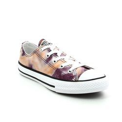 Converse Girls Trainers - Pink - 357654C/691 Chuck Taylor ALL STAR OX JNR