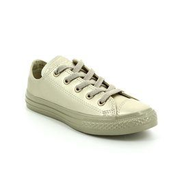 Converse Boys Trainers - Gold - 357664C/752 Chuck Taylor All Star OX JNR