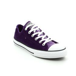 Converse Girls Trainers - Violet - 658211C/553 Chuck Taylor ALL STAR OX JNR