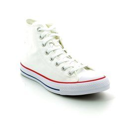 Converse Girls Trainers - White - M7650C/102 All Star HI Optical