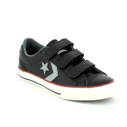 Converse Boys Trainers - Black - 658155C/001 STAR PLAYER EV 3V OX Velcro