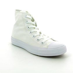 Converse Trainers - White - 1U646C Chuck Taylor All Star Hi Top Monochrome