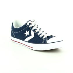 Converse Boys Trainers - Navy - 636930C Star Player EV OX Youth