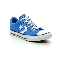 Converse Boys Trainers - Blue - 664860C STAR PLAYER YOUTH