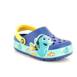 Crocs Sandals - Navy multi - 202881/4AX FINDING DORY