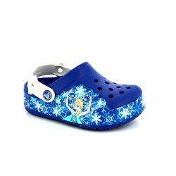 Crocs Girls Sandals - Blue multi - 202357/4BE FROZEN LIGHTS