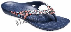 Crocs Sandals - Navy multi - 204231/93D KADEE  2 FLIP