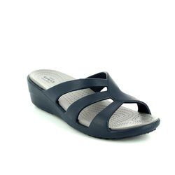 Crocs Sandals - Navy - 204010/46U SANRAH STRAPPY