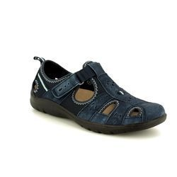 Earth Spirit Closed Toe Sandals - Navy - 28052/70 CLEVELAND
