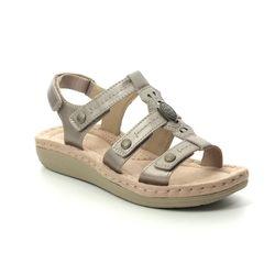 Earth Spirit Comfortable Sandals - Platinum - 30561/26 LYNBROOK