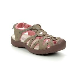Earth Spirit Closed Toe Sandals - Taupe multi - 30260/50 MIDWAY