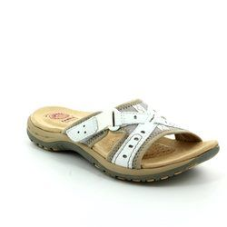 Earth Spirit Sandals - White - 24115/60 RIALTO