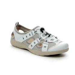 Earth Spirit Closed Toe Sandals - White - 30215/66 WINONA