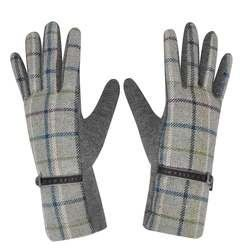 Earth Squared Gloves & Scarves - Grey muti - 1202/02 TWEED GLOVEs