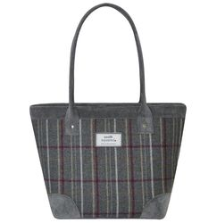 Earth Squared Handbags - Grey multi - 1901/00 TWEED TOTE BAG