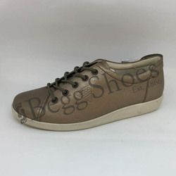 ECCO Comfort Lacing Shoes - Pewter - 206503/01375 SOFT 2.0