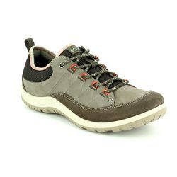 ECCO Walking Shoes - Taupe multi - 838503/56610 ASPINA