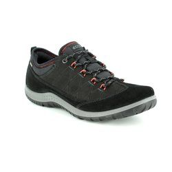 ECCO Walking Shoes - Black - 838523/51052 ASPINA GORE-TEX