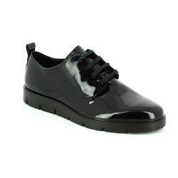 ECCO Comfort Lacing Shoes - Black - 282043/04001 BELLA