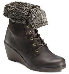 ECCO Wedge Boots - Brown multi - 232563/7508 BETTNA