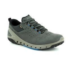 ECCO Trainers - Dark Grey - 820724/02602 BIOM VENTURE MENS GORE TEX SURROUND