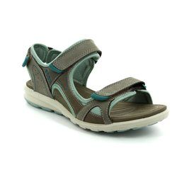 ECCO Walking Sandals - Taupe multi - 841613/58688 CRUISE LADIES