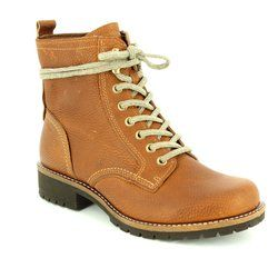 ECCO Boots - Ankle - Brown - 244633/01482 ELAINEZ HYDRO