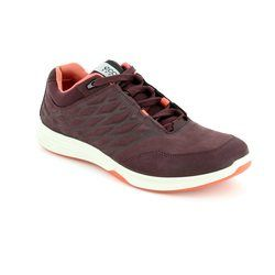 ECCO Comfort Lacing Shoes - Wine - 870003/02070 EXCEED LADIES