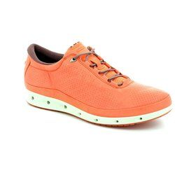 ECCO Comfort Lacing Shoes - Pink - 831303/59466 EXHALE GORE-TEX SURROUND