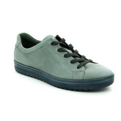 ECCO Comfort Lacing Shoes - Mint green - 235383/02648 FARA