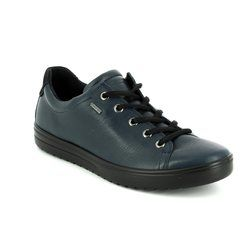 ECCO Comfort Lacing Shoes - Navy - 235333/01038 FARA GORE