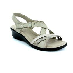 ECCO Walking Sandals - Light taupe multi - 216513/55294 FELISAN