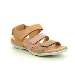 ECCO Sandals - Beige multi - 243943/51433 FLASH STRAP