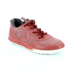 ECCO Comfort Lacing Shoes - Raspberry pink - 283543/50342 GENNA