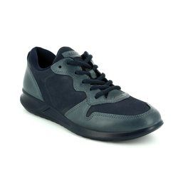 ECCO Comfort Lacing Shoes - Navy - 283633/50642 GENNA
