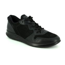 ECCO Comfort Lacing Shoes - Black - 283633/53859 GENNA
