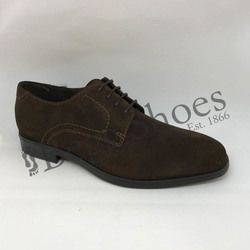 ECCO Smart Shoes - Brown suede or snake - 621634/05072 MELBOURNE