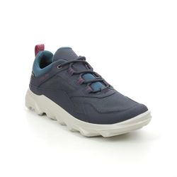 ECCO Walking Shoes - Navy - 820193/51647 MX WOMENS GORE