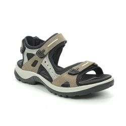 ECCO Walking Sandals - Dark taupe - 069563/02175 OFFROAD LADY
