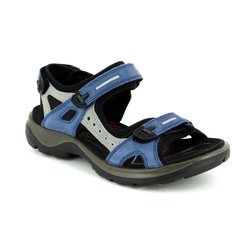 ECCO Walking Sandals - Blue multi - 069563/57807 OFFROAD