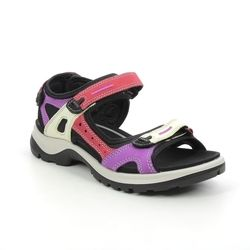ECCO Walking Sandals - Red multi - 822083/51696 OFFROAD LADY 2