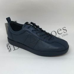 ECCO Comfort Lacing Shoes - Navy - 400503/01048 SOFT 1 LADIES