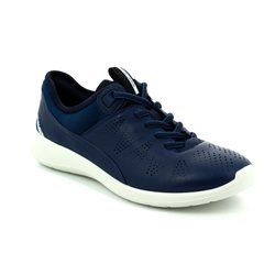 ECCO Comfort Lacing Shoes - Navy - 283063/50357 SOFT 5