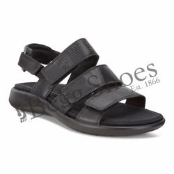 ECCO Sandals - Black - 218523/01001 SOFT 5 SANDAL