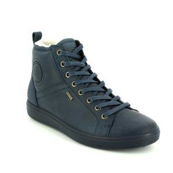 ECCO Boots - Ankle - Navy - 430353/02038 SOFT 7 LADIES GORE-TEX