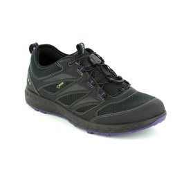 ECCO Walking Shoes - Black - 803523/51052 TERRA LADY GORE-TEX