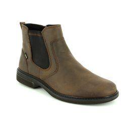 ECCO Boots - Brown nubuck - 510214/02482 TURN GORE-TEX