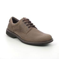 ECCO Casual Shoes - Brown nubuck - 510444/55778 TURN HYDROMAX