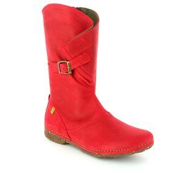 El Naturalista Knee High Boots - Red - N916/80 ANGKOR N916