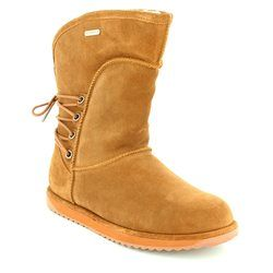 EMU Australia Boots - Ankle - Tan suede - W11245/20 ISLAY